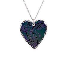 Blue Phoenix Necklace