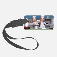 Too Many Cooks Luggage Tag