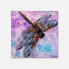 "Sugar Plum Fairy Square Sticker 3"" x 3"""