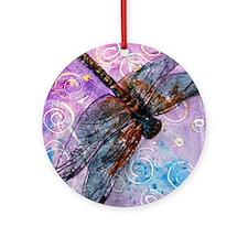 Sugar Plum Fairy Round Ornament