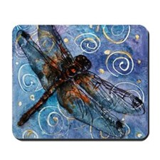 Starry Starry Dragonfly Mousepad