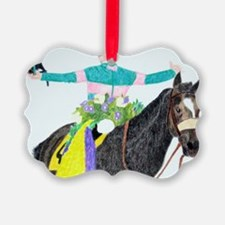 Mike Smith and Zenyatta Ornament