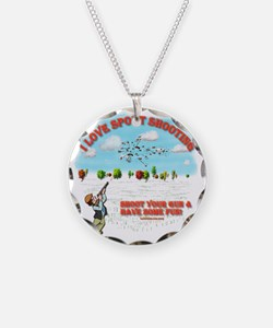 I Love Sport Shooting Necklace