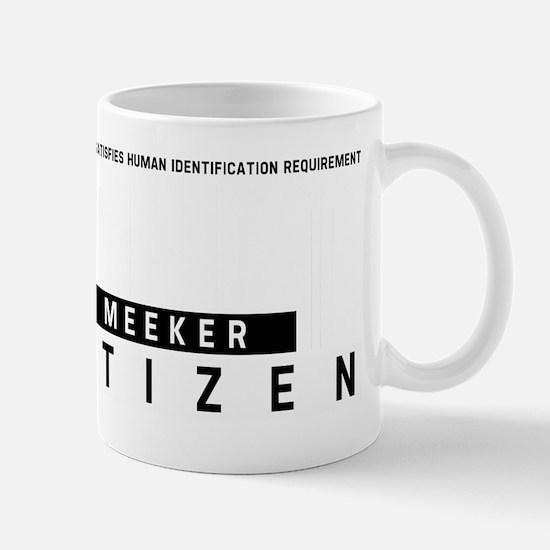 Meeker Citizen Barcode, Mug