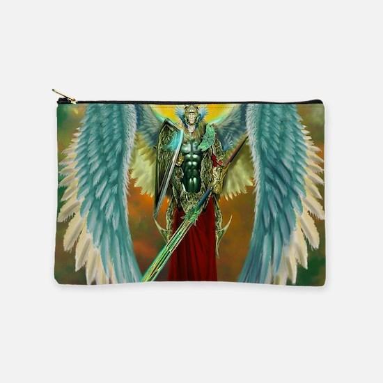Archangel Michael Makeup Pouch