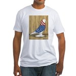 Patriotic West Fitted T-Shirt