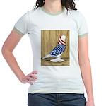 Patriotic West Jr. Ringer T-Shirt