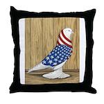 Patriotic West Throw Pillow