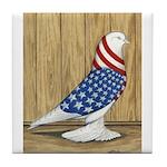 Patriotic West Tile Coaster