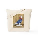Patriotic West Tote Bag