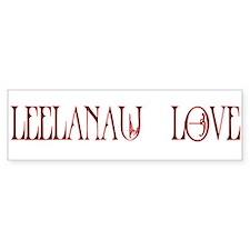 Leelanau Love Bumper Bumper Sticker Bumper Bumper Sticker