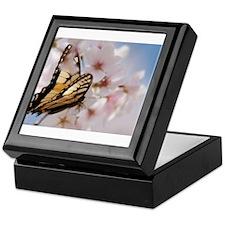 Butterfly in Spring Keepsake Box