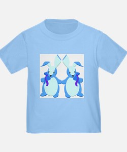 Blue Stuffed Bunnies, T