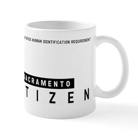Sacramento Citizen Barcode, Mug