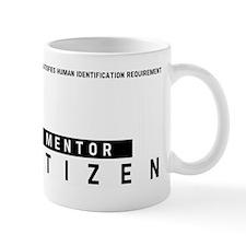 Mentor Citizen Barcode, Mug