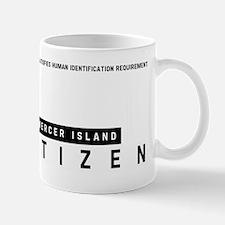 Mercer Island Citizen Barcode, Mug