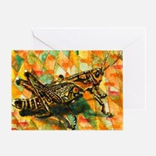 Glorious Grasshopper Greeting Card