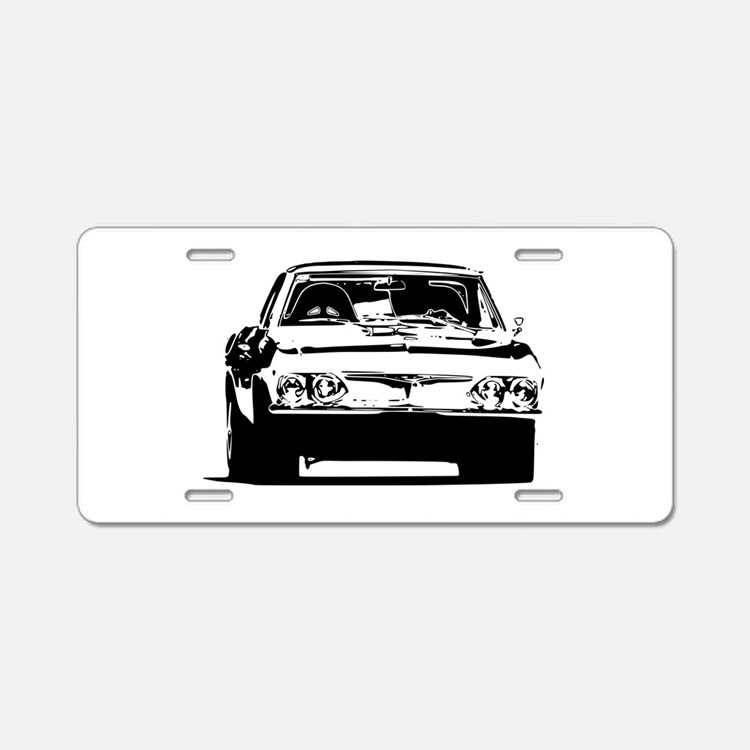 Corvair Aluminum License Plate