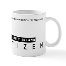 Merritt Island Citizen Barcode, Mug