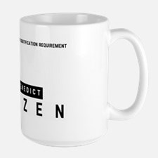 Saint Benedict Citizen Barcode, Large Mug