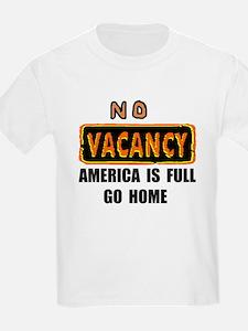 NO VACANCY Kids T-Shirt