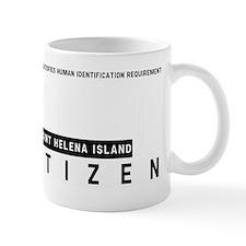 Saint Helena Island Citizen Barcode, Mug