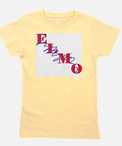 resized elmo crossed out Girl's Tee