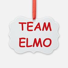 Team Elmo Ornament
