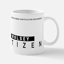 Wolsey Citizen Barcode, Mug