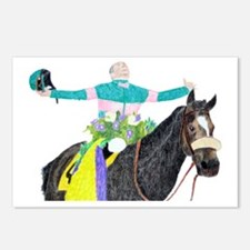 Mike Smith and Zenyatta Postcards (Package of 8)