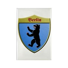 Berlin Germany Metallic Shield Magnets