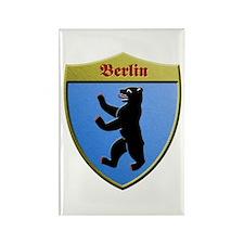Berlin Germany Metallic Shield Magnets