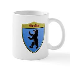 Berlin Germany Metallic Shield Mugs