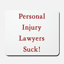Personal injury lawyers Mousepad