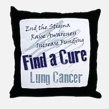 End the Stigma Throw Pillow