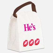 Hes Mine Canvas Lunch Bag