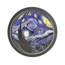 Starry Starry Night Wall Clock