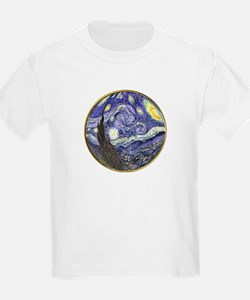 Starry Starry Night Kids T-Shirt