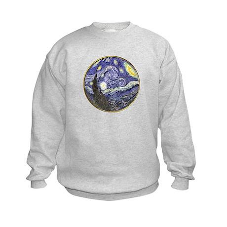 Starry Starry Night Kids Sweatshirt