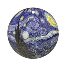 Starry Starry Night Ornament (Round)