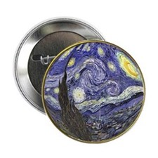 Starry Starry Night Button