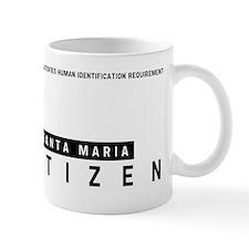 Santa Maria Citizen Barcode, Mug