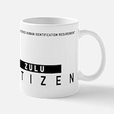 Zulu Citizen Barcode, Mug
