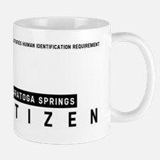 Saratoga Springs Citizen Barcode, Mug