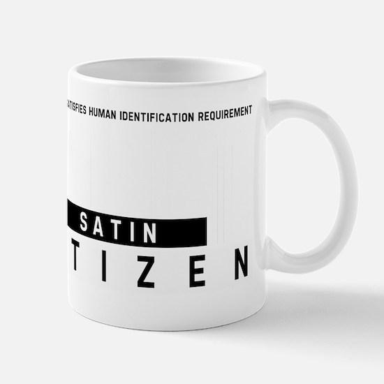 Satin Citizen Barcode, Mug