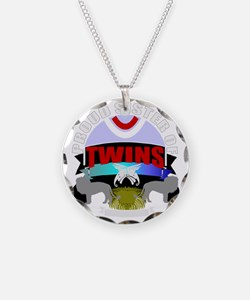 Sister of twins Necklace