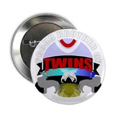 "Brother of twins 2.25"" Button"