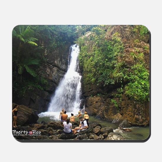 La Mina Falls, El Yunque National Rainfo Mousepad