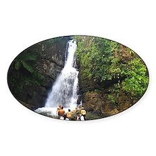 La Mina Falls, El Yunque National R Decal