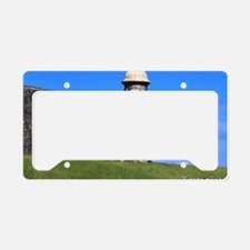 Garita del Castillo de San Cr License Plate Holder